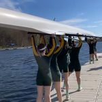 Proud to see our T'bred rowers on the water this week doing what they love.