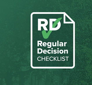 Regular Decision checklist