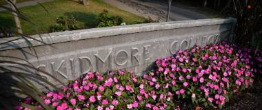 Skidmore College Entrance