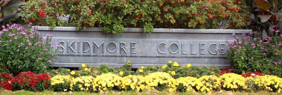 Skidmore Entrance