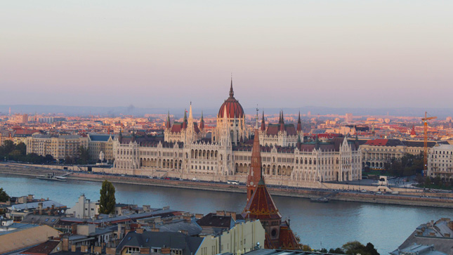 ngarian Parliament in Budapest