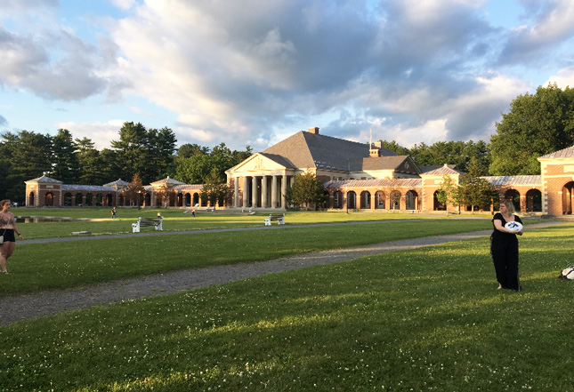 The Hall of Springs in the Saratoga Spa State Park