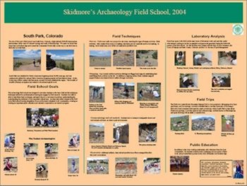 South Park Archaeology Project Report and Presentations