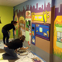 Child Advocacy - Murals Project 2015