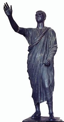 L'Arringatore, 1st c. BCE