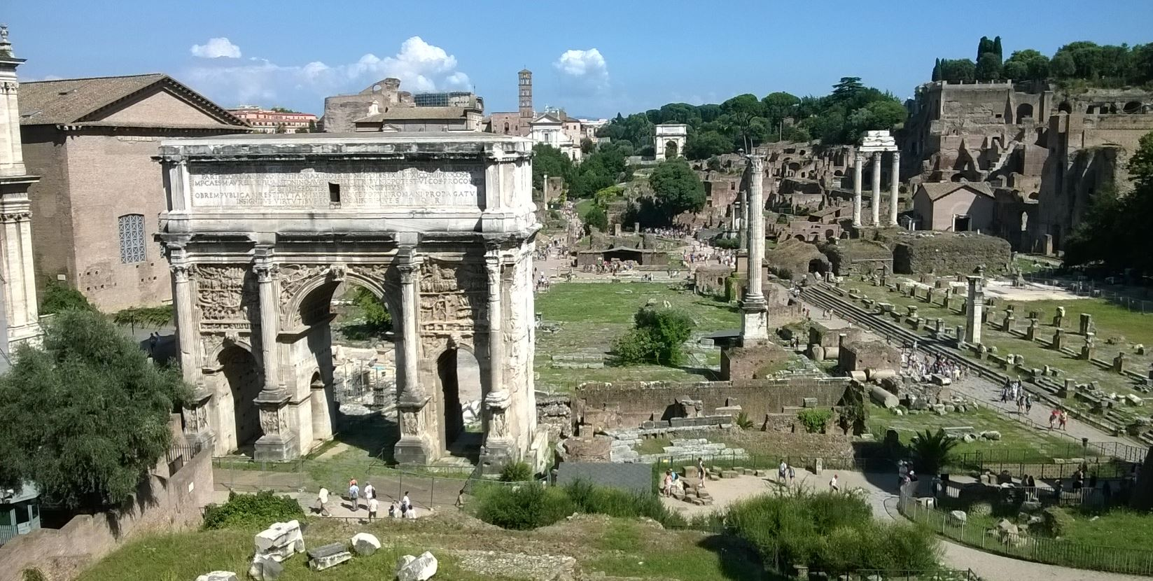 Roman Forum from Capitoline Museum