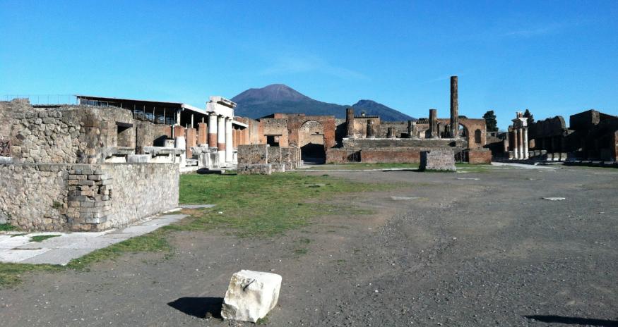 Vesuvius, Pompeii