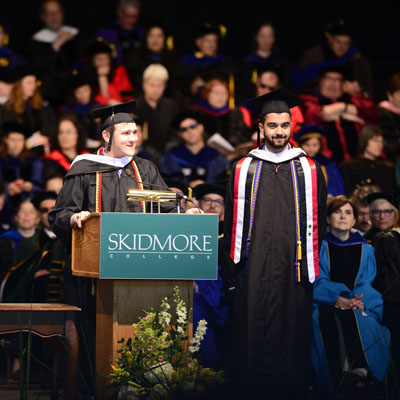 Skidmore Commencement 2017