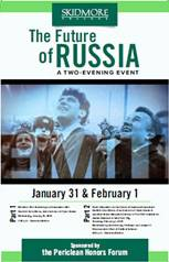 The Future of Russia event poster