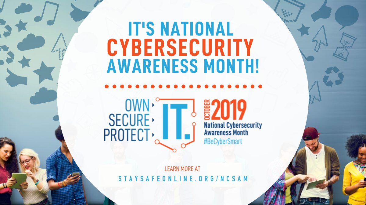 October is National Information Security Month