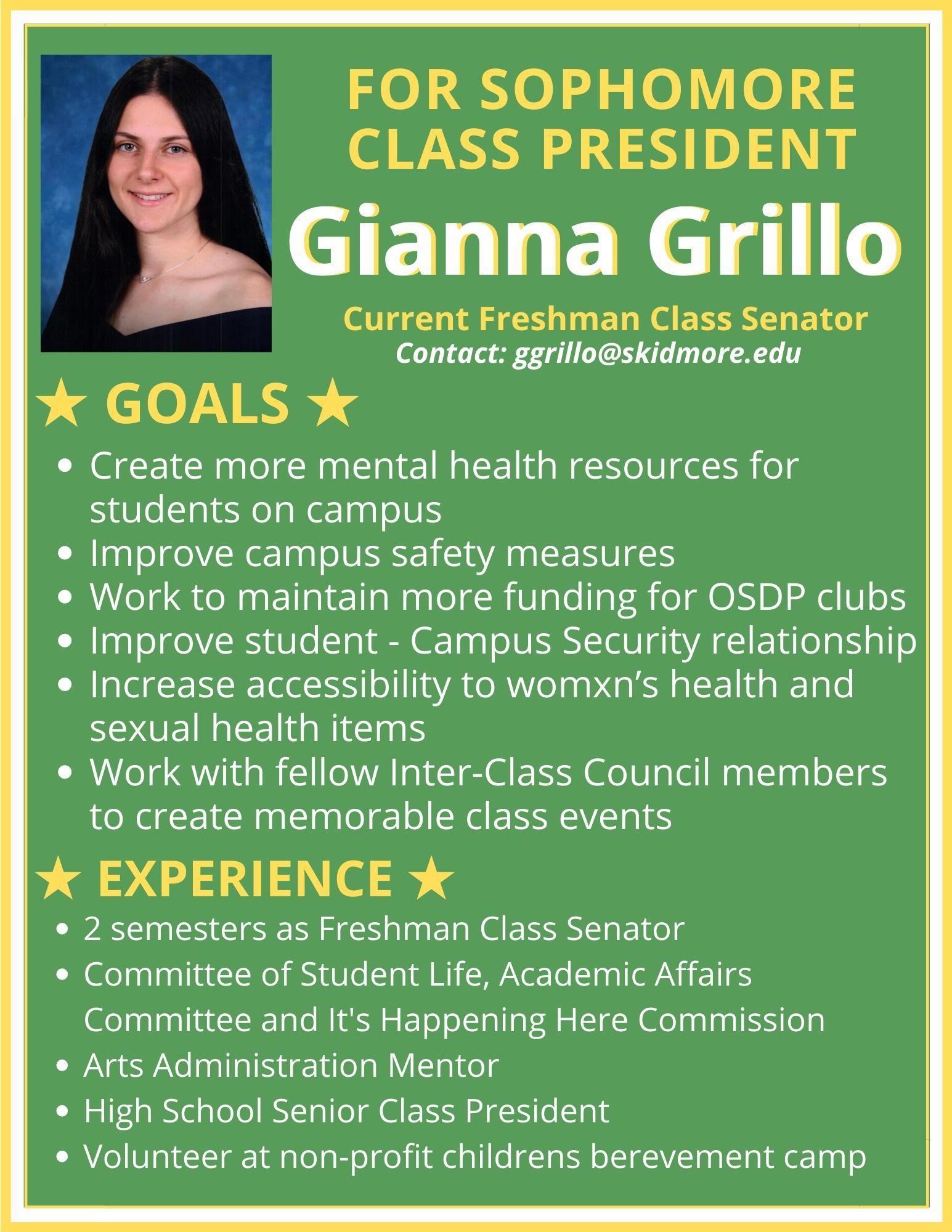 Gianna%20Grillo%20for%20Sophomore%20Class%20President