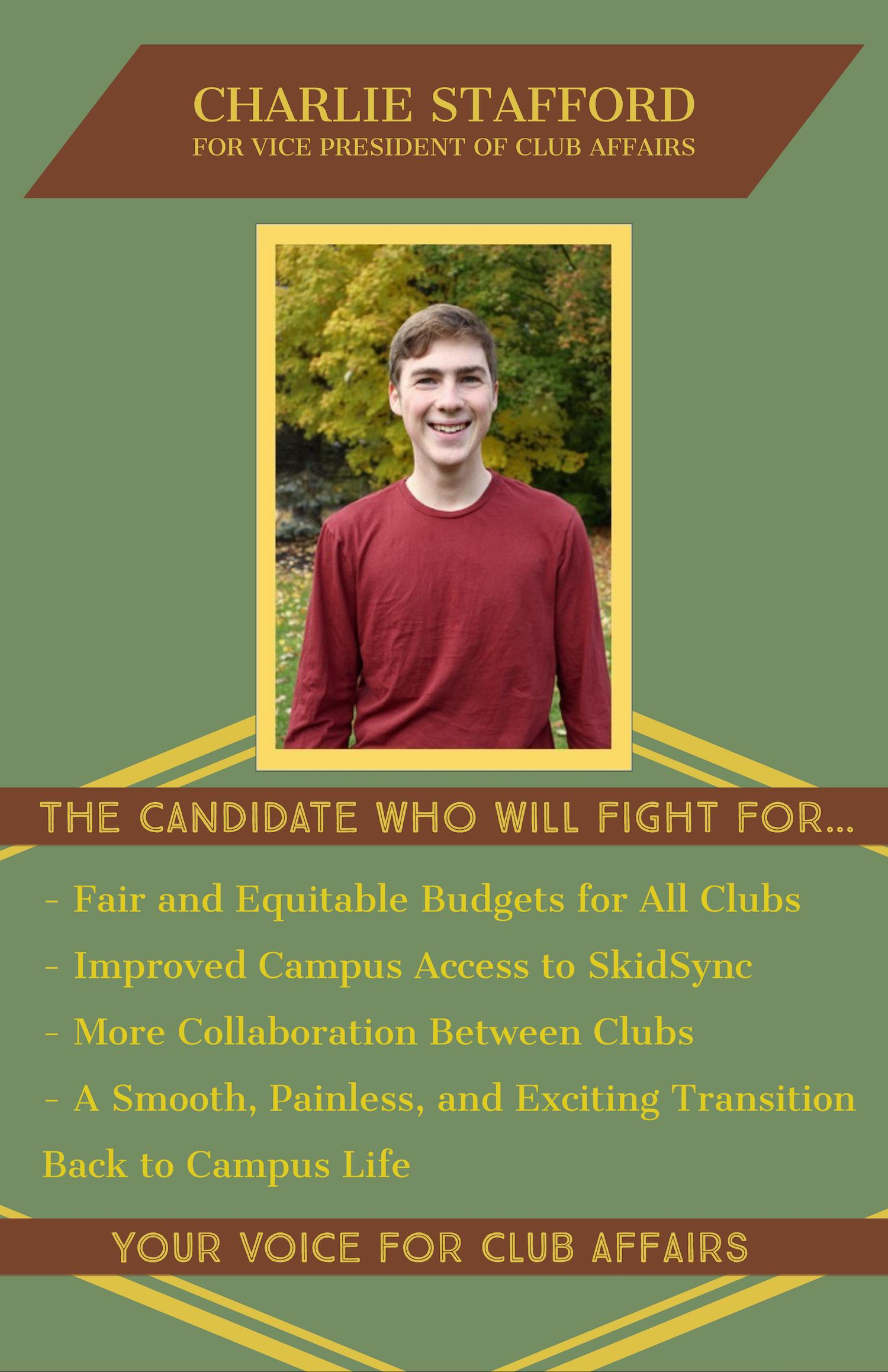Charlie%20Stafford%20for%20Vice%20President%20for%20Club%20Affairs