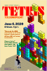 'Tetris Tournament' poster by Daniel Lee