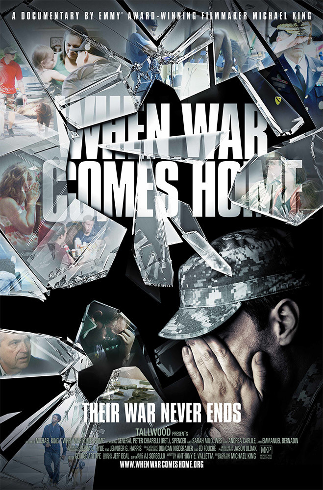 """When War Comes Home"" poster"