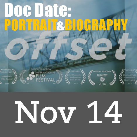 Doc Date: Portrait & Biography series