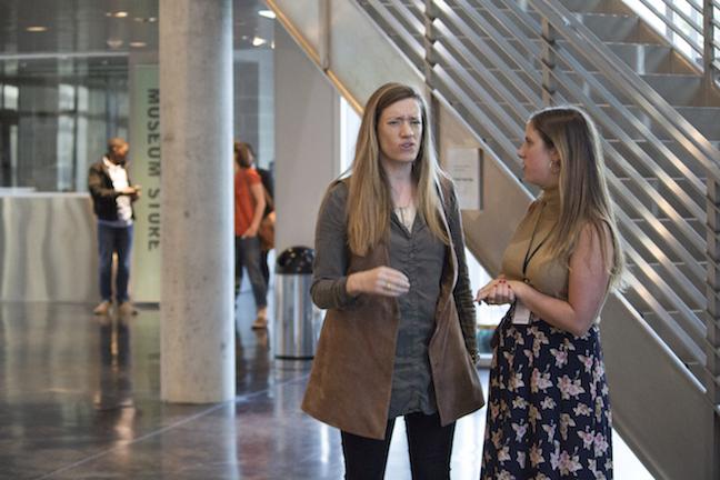 Stephanie Spray and Emma Rose Foley