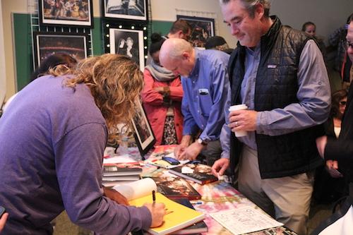 Jay book signing