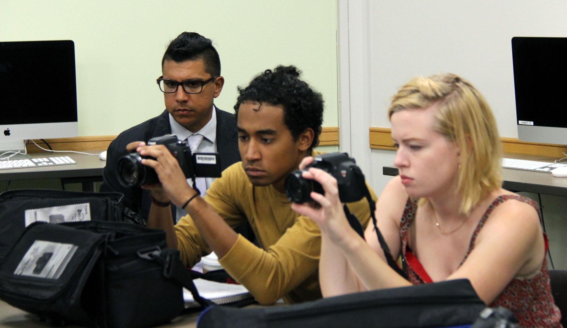 Bernardo Rios and Visual Anthropology Students