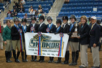 riding team at nationals
