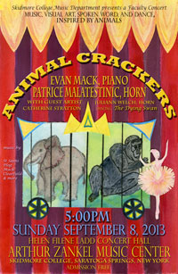 animal crackers concert poster