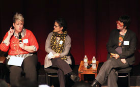 Faculty panel, Girls Rising Together