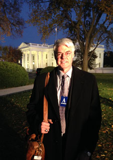 President Philip A. Glotzbach at White House