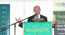 Rep. Paul Tonko at solar celebration