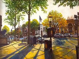 Saratoga Springs by Doretta Miller