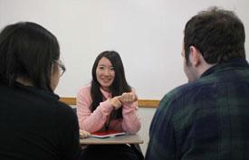 East meets West: Skidmore language class hosts Japanese visitors