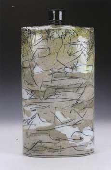 """Stoneware Form, 2015, 18"""" by Regis Brodie"""