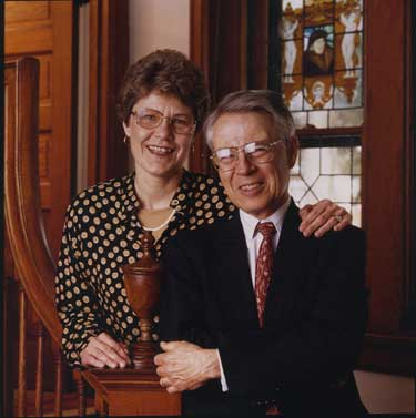 David and Helen Porter at Scribner House