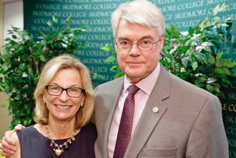 Linda+Toohey+and+President+Glotzbach+