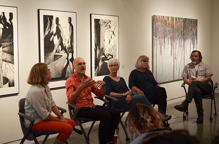 Schick faculty art show