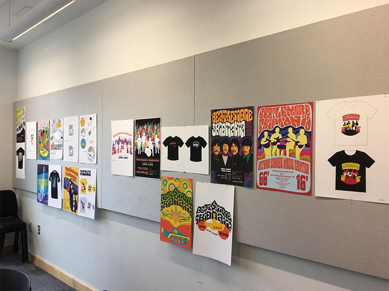 Beatlemore poster designs