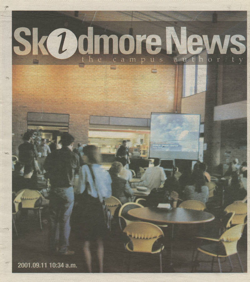 9/11 Skidmore News edition