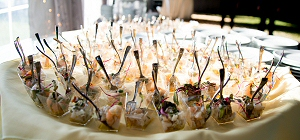 Gourmet fare is a hallmark of the event.