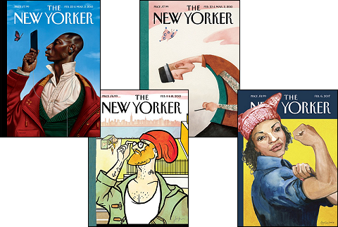New+Yorker+covers