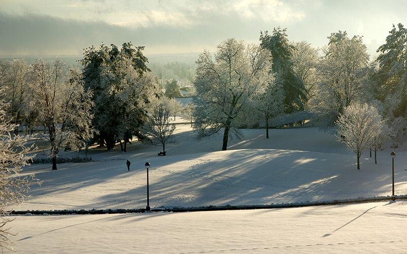 South Park presents a glistening winter wonderland.