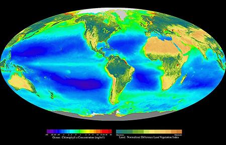 ocean-color image