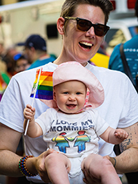 pride parade mom