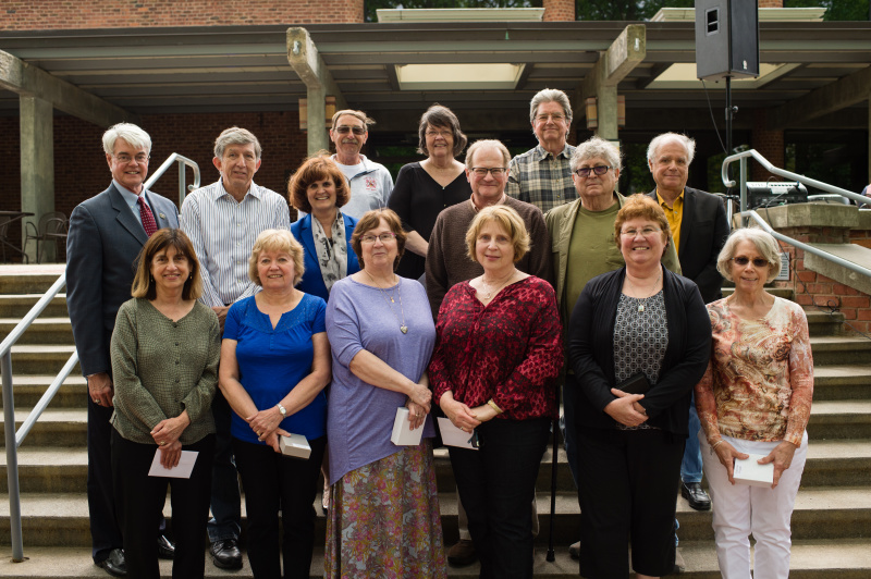 Retirees recognized at annual luncheon