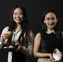 Yuelin He '19 and Danning Ma '17