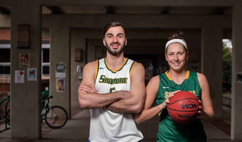 Skidmore student-athletes