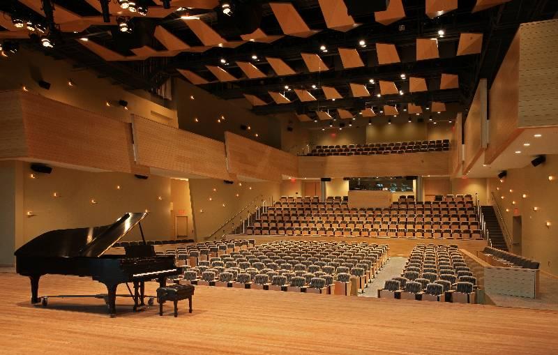 Zankel Music Center at Skidmore College