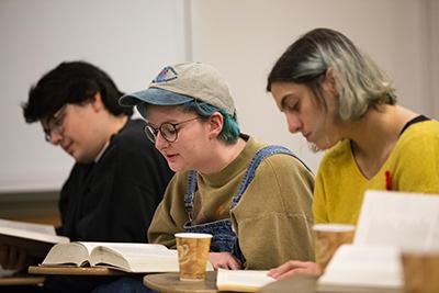 students read Milton