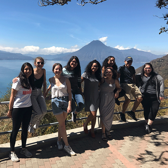 Students in Guatemala