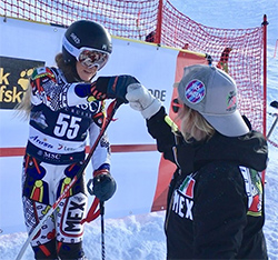 Lyndsay Strange '09 is coaching Team Mexico in the Winter Olympics