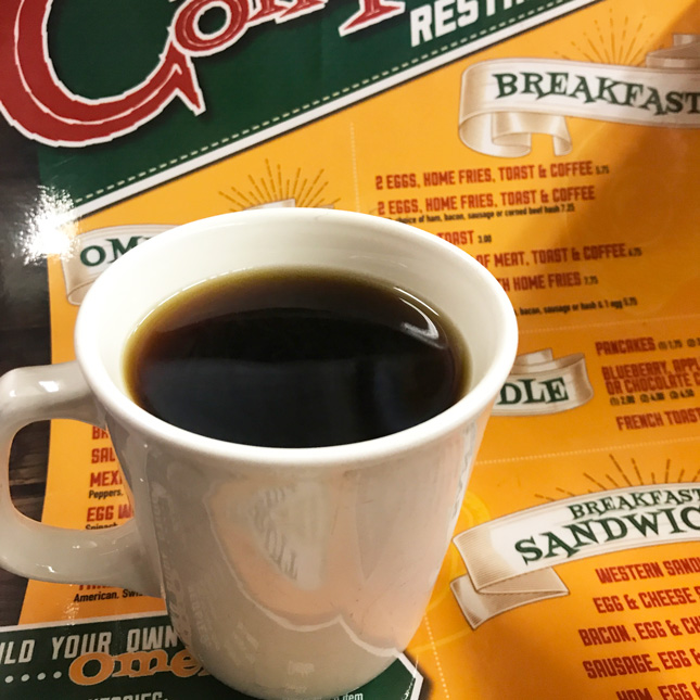 Compton's diner coffee