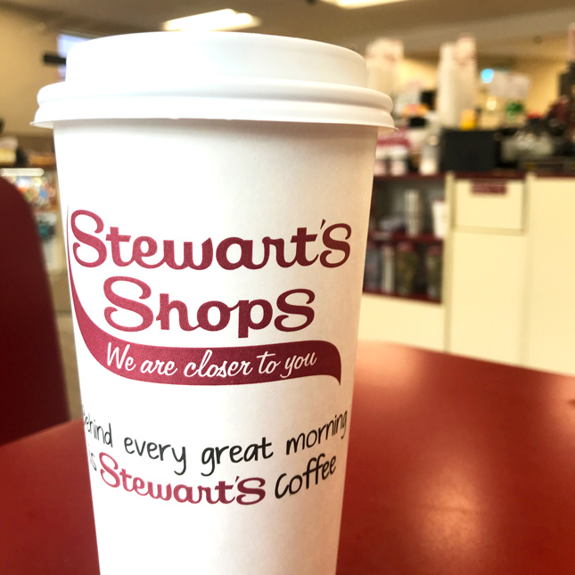 Stewarts coffee cup