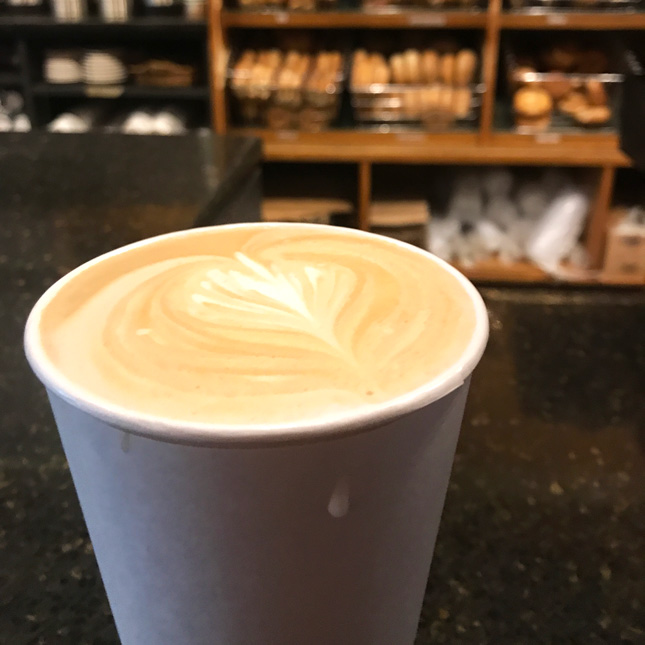 Uncommon Ground coffee cup